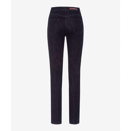 BRAX Damen Jeans MARY Slim Fit Crystal Romance Clean Raw Blue Stretch