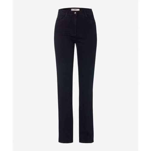 BRAX Damen Jeans CAROLA Regular Fit Crystal Romance Clean Black Stretch