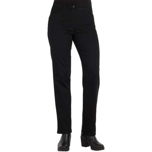 RAPHAELA Damen Jeans CORRY FAME Comfort Fit Black Stretch