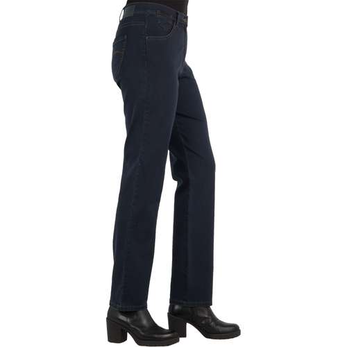 RAPHAELA Damen Jeans CORRY FAME Comfort Fit Dark Blue Stretch