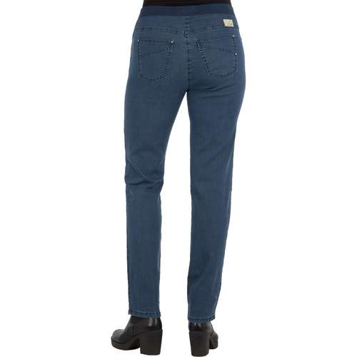 RAPHAELA Damen Jeans PAMINA Slim Fit Stoned Stretch