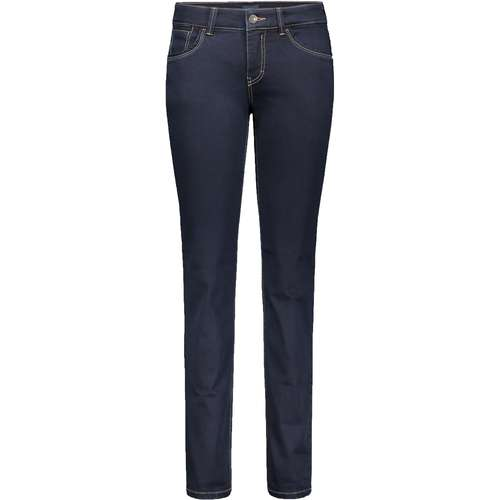 MAC Damen Jeans CARRIE PIPE Regular Fit Forever Denim Dark Rinsewash Stretch