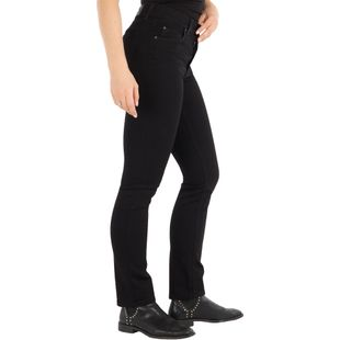 ANGELS Damen Jeans CICI Slim Fit Powerstretch Jetblack Länge 32