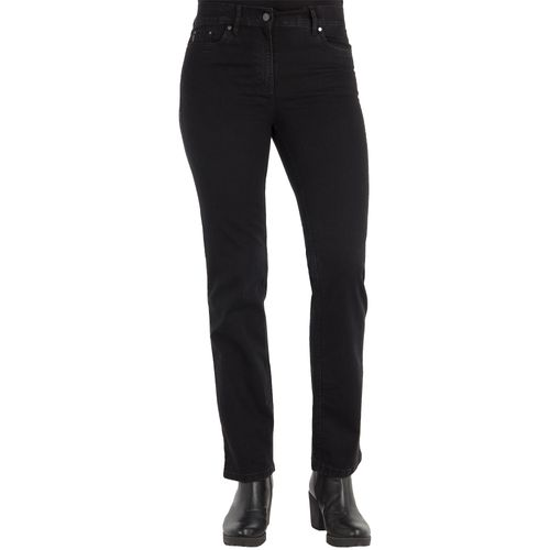 ZERRES Damen Jeans CORA Straight Fit Comfort S Strass Stretch