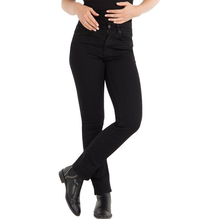 ANGELS Damen Jeans CICI Slim Fit Powerstretch Jetblack Länge 30