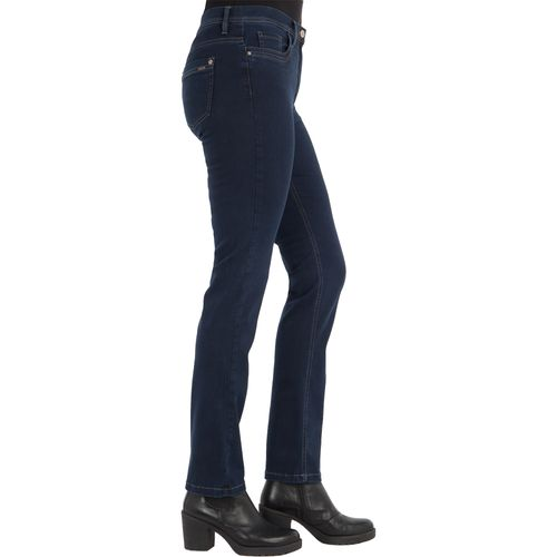 ZERRES Damen Jeans GINA Straight Fit Tencel Denim