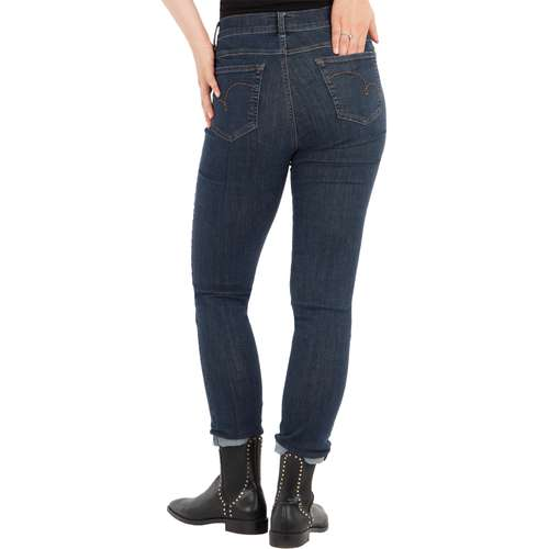 ANGELS Damen Jeans SKINNY Skinny Fit Ultrapowerstretch Stone Länge 28