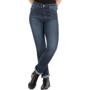ANGELS Damen Jeans CICI Slim Fit Ultrapowerstretch Used Buffi Stone Länge 28