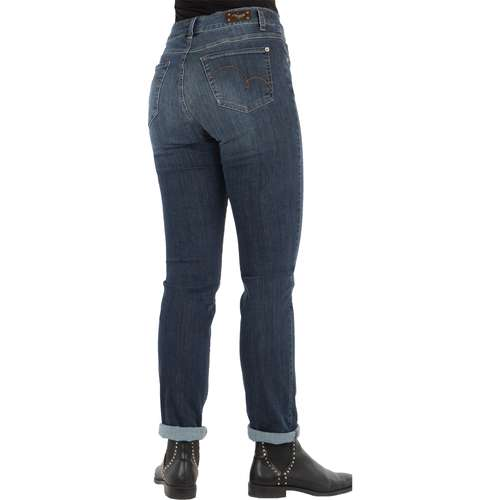 ANGELS Damen Jeans CICI Slim Fit Ultrapowerstretch Used Buffi Stone Länge 32