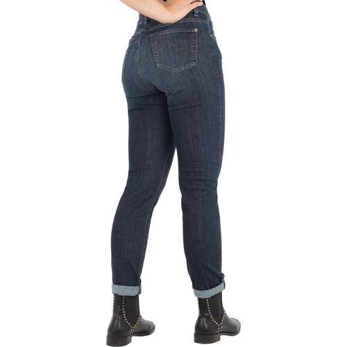 ANGELS Damen Jeans SKINNY Skinny Fit Ultrapowerstretch Used Buffi Stone Länge 30