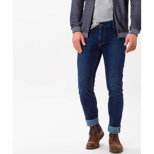 BRAX Herren Jeans CHUCK Modern Fit Hi-Flex Dark Blue Used