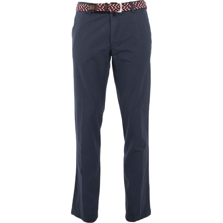 EUREX Herren Chino Hose JIM 316 Regular Fit Blue
