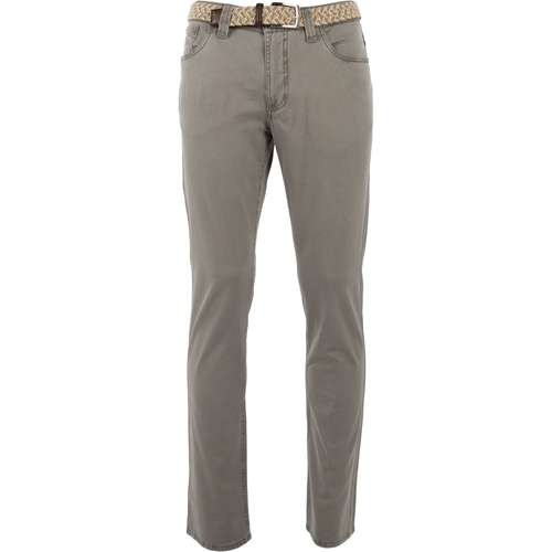 EUREX Herren Hose EX_LEO 310 Regular Fit Grey