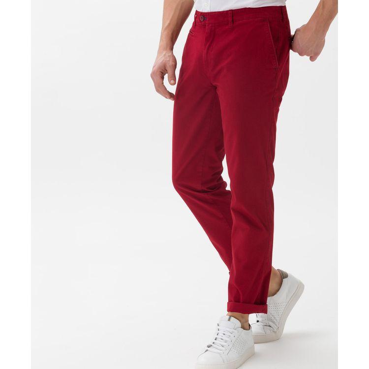 BRAX Herren Hose COOPER FA Regular Fit Red