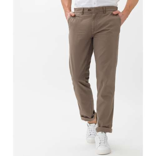 BRAX Herren Chino Hose EVEREST Regular Fit Taupe