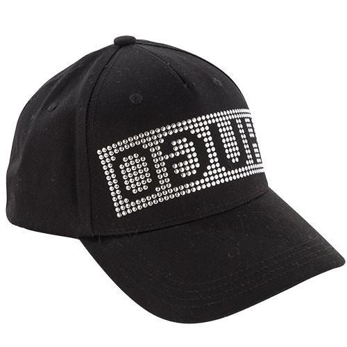 HUGO BOSS Herren Baseball Cap MEN-X 539 Black Nieten