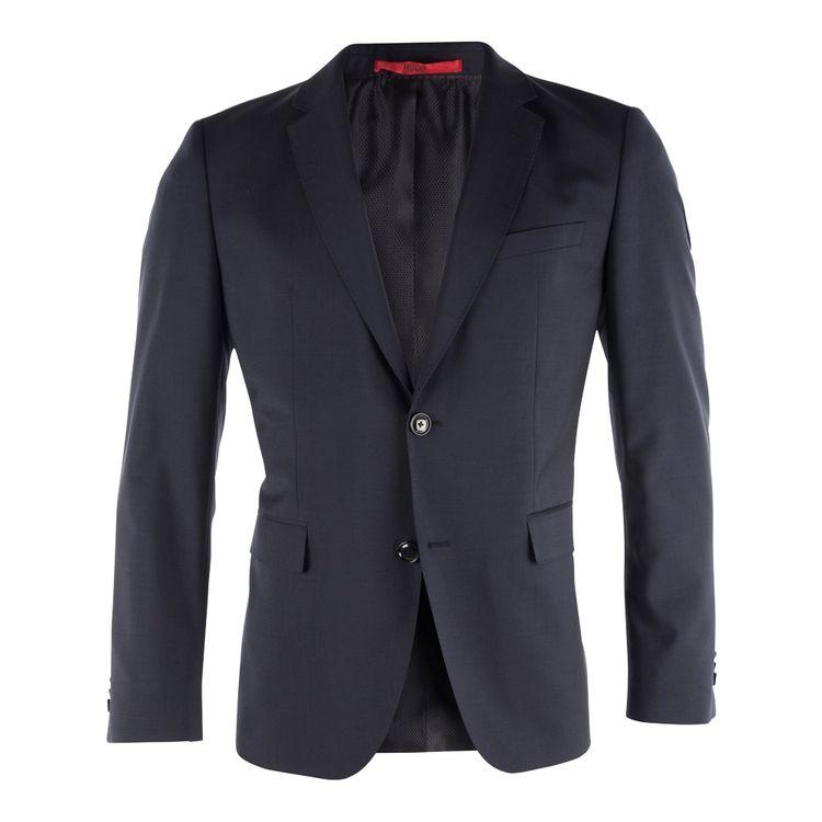 HUGO BOSS Herren Sakko JEFFREY 181S Regular Fit Dark Blue