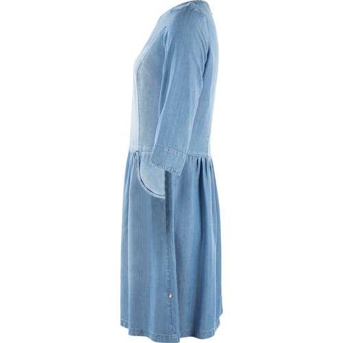 ROBELÉGÈRE Damen Jeanskleid Middle Blue