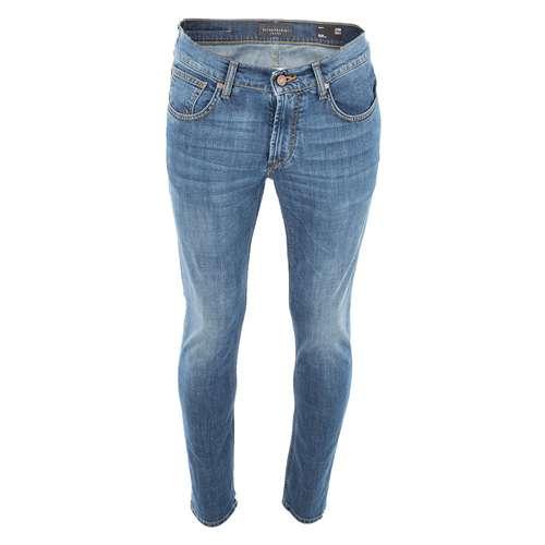 BALDESSARINI Herren Jeans JOHN Slim Fit blue