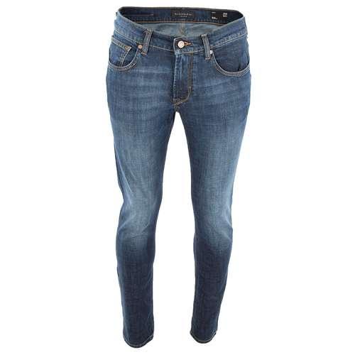 BALDESSARINI Herren Jeans Slim Fit dark blue