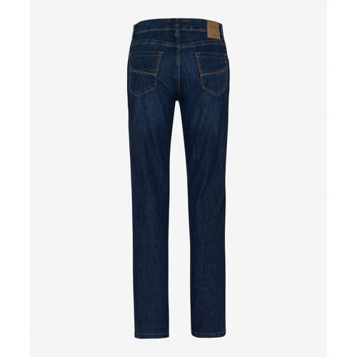 BRAX Herren Jeans CADIZ Regular Fit Ultralight Dark Blue Used