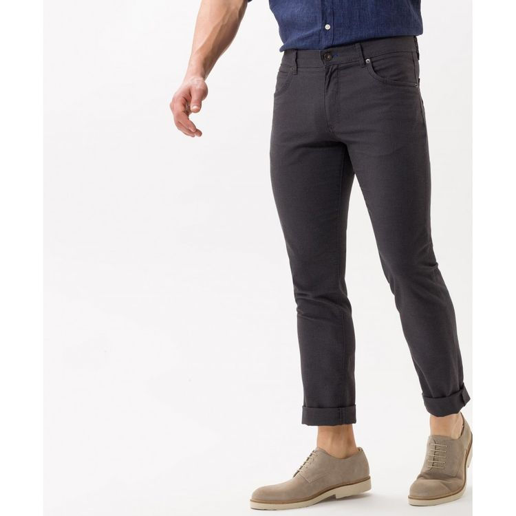 BRAX Herren Jeans CADIZ Regular Fit Two Tone Asphalt