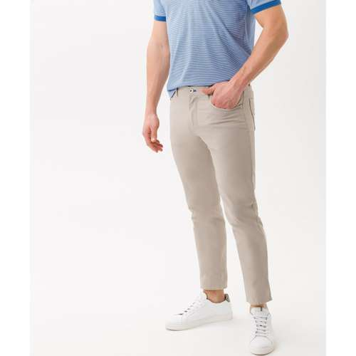 BRAX Herren Jeans CADIZ Regular Fit Two Tone Beige