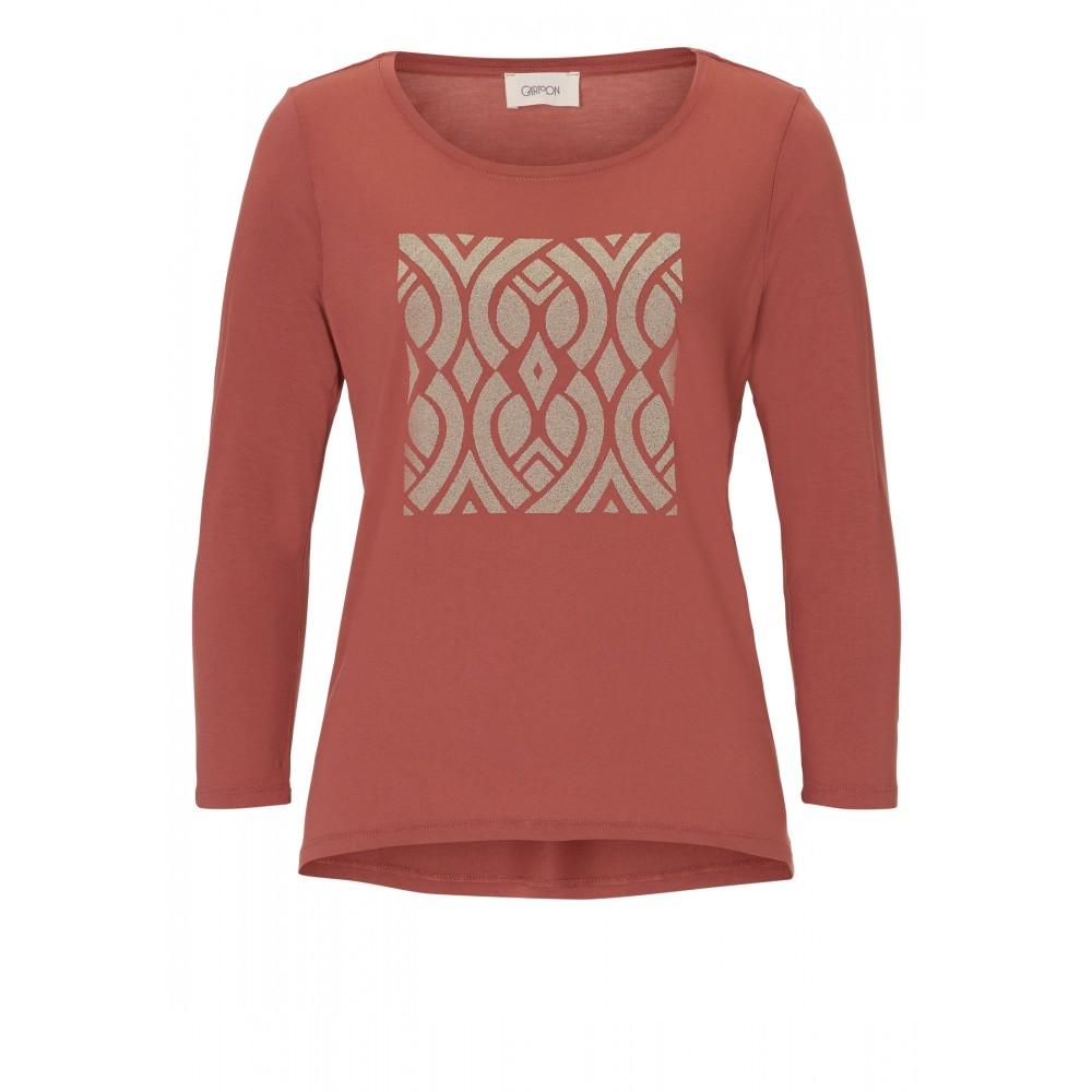 3cc3461b867f4b Damen SHIRT mit Print Canyon Rose Damen Shirts & Tops Langarmshirt