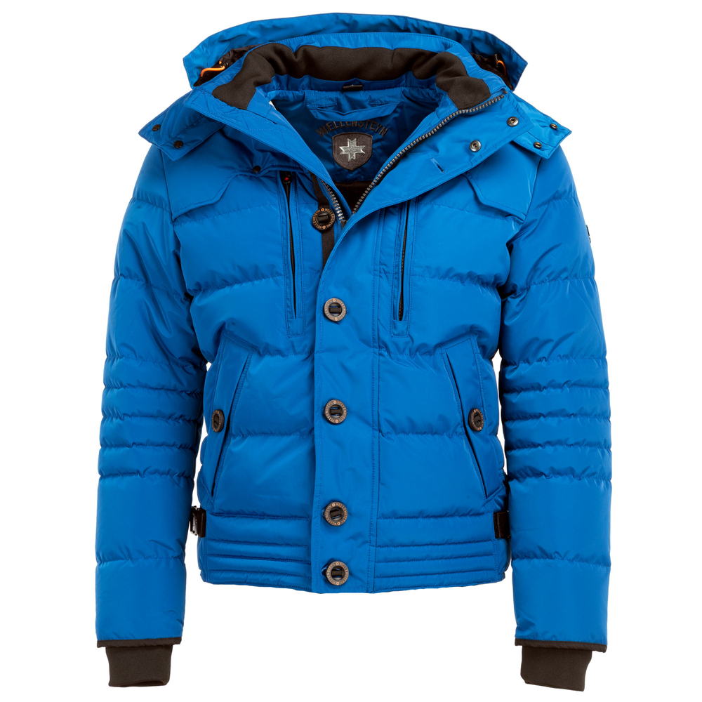 wellensteyn jacke herren winter blau
