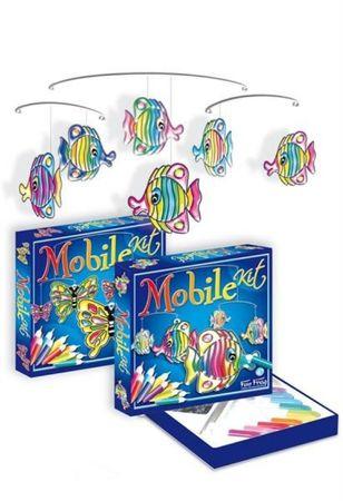 SENTOSPHERE Bastelset fliegende Schmetterlinge kreatives Basteln für Kinder 00243 – Bild 2