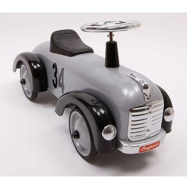 Baghera Rutscher Speedster Silber Rutschauto für Kleinkinder Rennauto Metall 870 – Bild 6