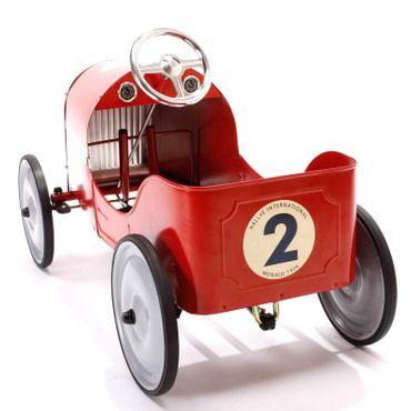 Baghera Tretauto Legend Rot aus Metall für Kinder ab 3 Jahre Rennauto 1926M – Bild 5