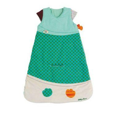 LILLIPUTIENS Babyschlafsack Jeff 70 cm umlaufender Reißverschluss ohne Arm 86368 – Bild 1