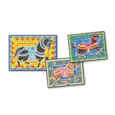 SENTOSPHERE Aquarellum GM Pferde Malset Malvorlagen Kinder Spielzeug 06090  – Bild 2