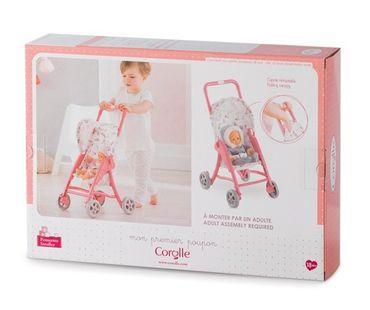 Corolle Mon Premier Sitzbuggy Puppenwagen für 30 cm Puppen für Kleinkinder FRN90 – Bild 3