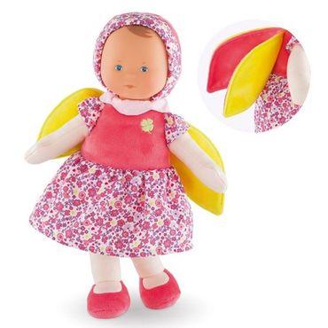 Corolle Fee Blumentraum Kuschelpuppe für Babys 30cm mehrfarbig aus Stoff FBD08 – Bild 1