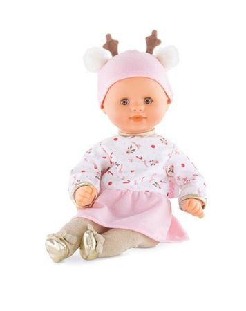 Corolle Mon Premier Puppe Calin Rentier Babypuppe Weichkörper Kleinkind FPJ94 – Bild 1