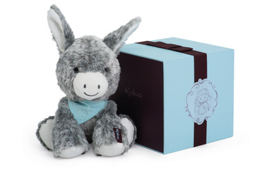 Kaloo Les Amis - Kuscheltier Esel medium 25cm grau in edler Geschenk-Box 963116 – Bild 1