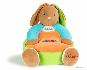 Kaloo Colors Maxi Sofa Hase 45cm Kindersessel Sitzhase bunt Plüsch 963271