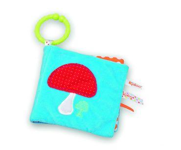 Kaloo Colors Eveil Mein erstes Buch Garten Babyspielzeug Stoff Activity 963294 – Bild 2