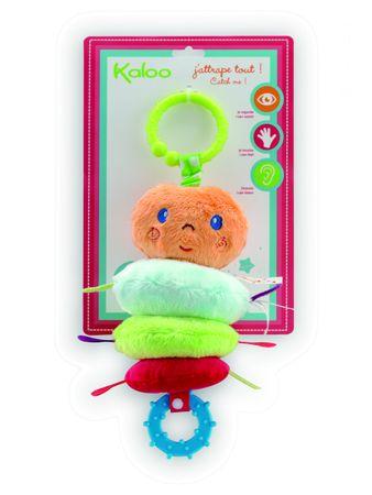 Kaloo Colors Eveil Meine tanzende Raupe Spielzeug Baby Stoff Vibration 963297 – Bild 1