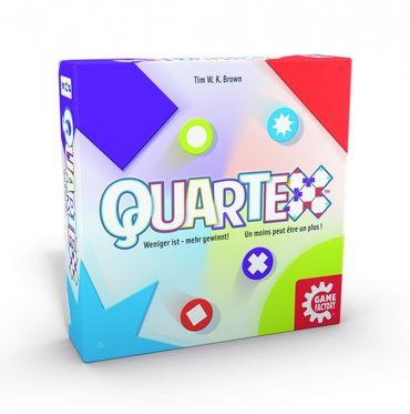 Gamefactory Quartex Legespiel ab 8 Jahren Gesellschaftsspiel 646132 – Bild 3