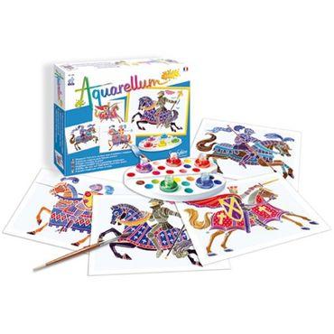 SENTOSPHERE Aquarellum Junior Reiter Malset Malvorlagen Kinder Spielzeug 00695