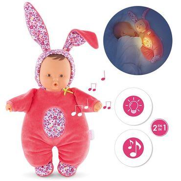 Corolle Babipinpin Kuschelpuppe Blumentraum Spieluhr mit Licht für Babys FPJ86 – Bild 1