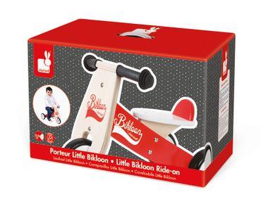 Janod Bikloon Dreirad Laufdreirad für Kleinkinder aus Holz Trike Rutscher J03261 – Bild 1