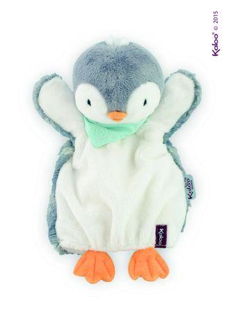 Kaloo Les Amis Handpuppe Pinguin Pepit Spielzeug Schmusepuppe Baby Stoff 969295 – Bild 1