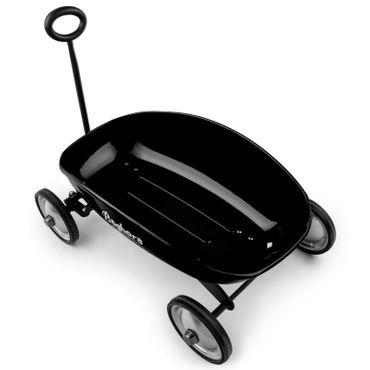 Baghera Handwagen Schwarz Metall Transport Karren Bollerwagen für Kinder 855 – Bild 5