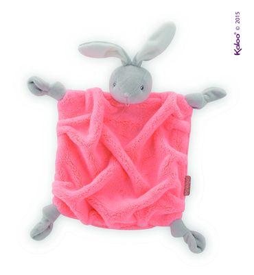 Kaloo Plume Schmusetuch Hase Schnuffeltuch Babyspielzeug in edler Box 962324  – Bild 1