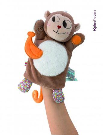 Kaloo Nopnop Handpuppe Affe Banana Stoff Schmusepuppe Spielzeug Baby 961424 – Bild 2