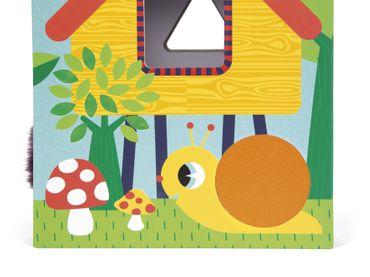 Janod Formenbox Garten Sortierspiel mit Fühlelementen für Kleinkinder 02784 – Bild 9